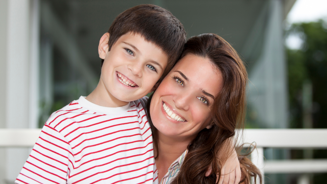 A mother and son with ADHD changed by our program.