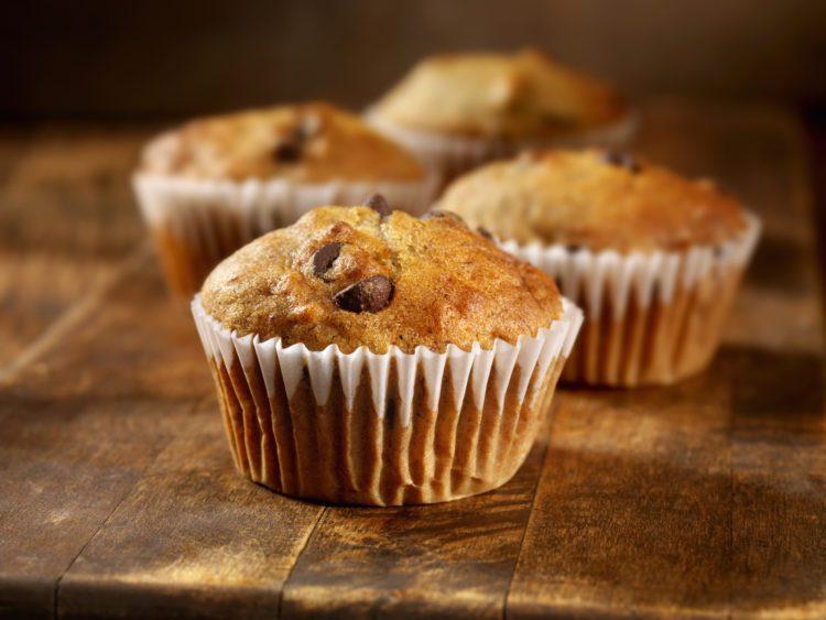 Gluten and dairy free banana muffins